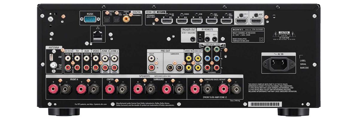 Sony STR-ZA2100ES