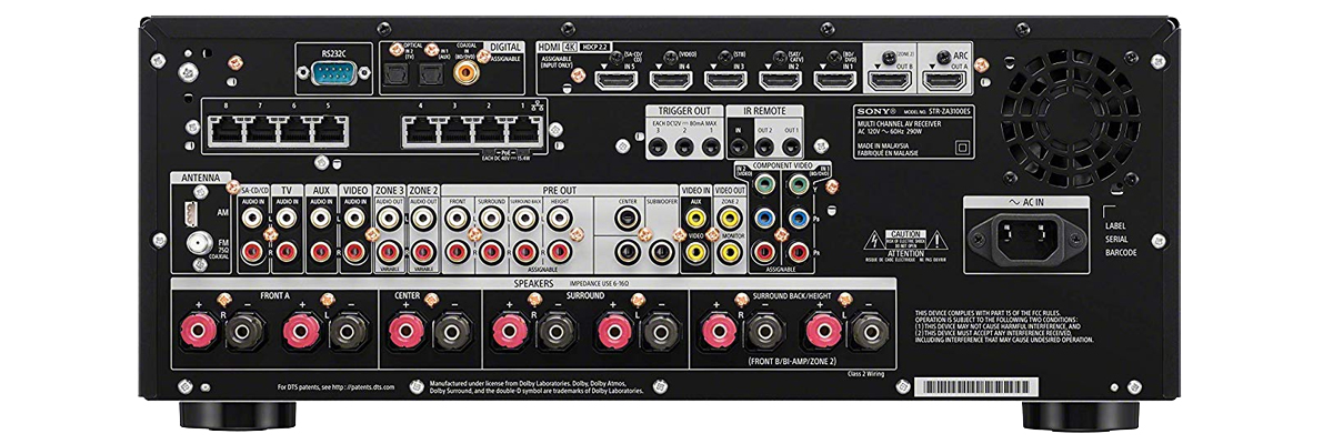 Sony STR-ZA3100ES